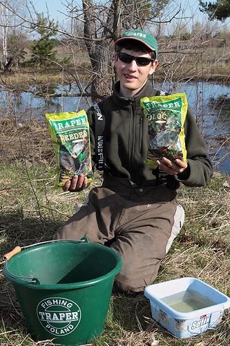 прикормка для рыбалки весной