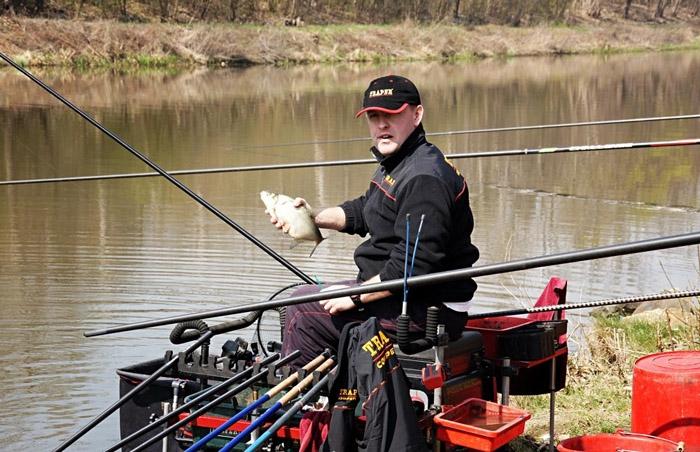 ловля рыбы с прикормкой