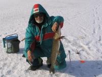 Зимняя рыбалка с Юрием Щорсом
