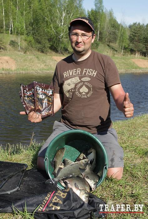 летняя рыбалка с прикормкой