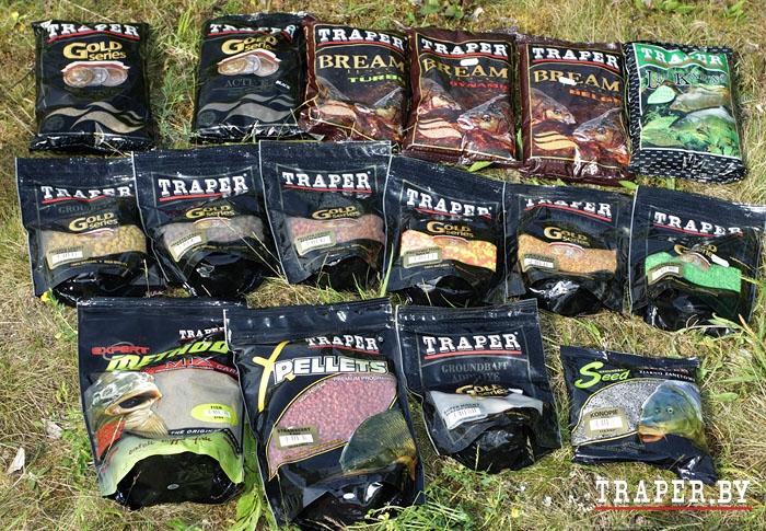 прикормка traper